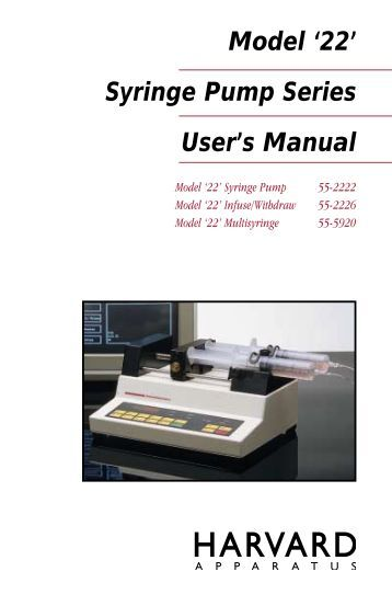 graseby 2000 syringe pump user manual