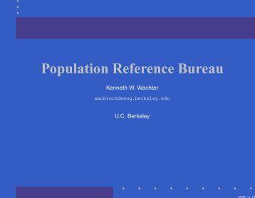 Most recent censuses smi - Population reference bureau ...