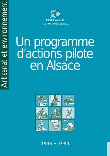 Artisanat et environnement - Eco-Conseil, Institut Européen pour le ...