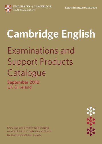 Download - University of Cambridge - ESOL Examinations