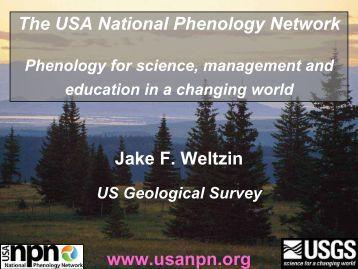Phenology monitoring methods - USA National Phenology Network