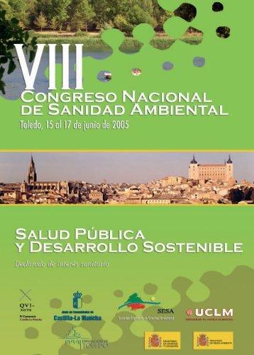 VIII Congreso Nacional de Sanidad Ambiental - Sociedad Española ...
