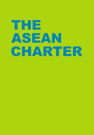 THE CHARTER ASEAN