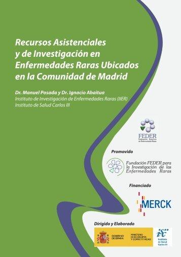 Recursos Asistenciales y de Investigación en Enfermedades ... - Inicio