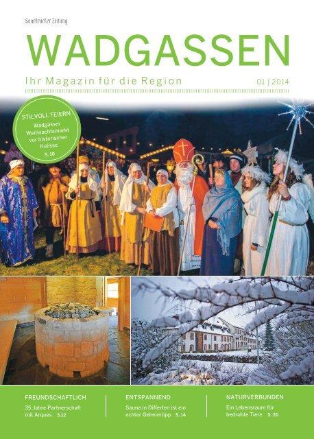 Gemeindemagazin Wadgassen 01|2014