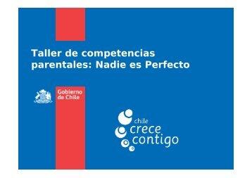 Nadie es Perfecto - Chile Crece Contigo