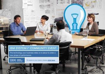 IBM SySteM i® coMMunIty event - Looksoftware