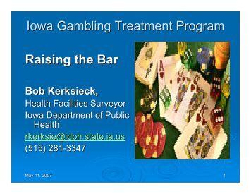 Ucla gambling treatment program