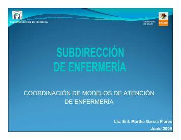 coordinación de modelos de atención de enfermería - Hospital ...