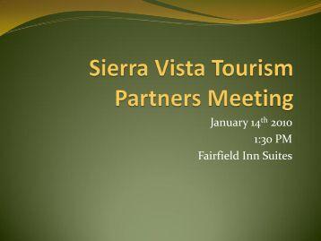 January 14th 2010 1:30 PM Fairfield Inn Suites - The Sierra Vista ...