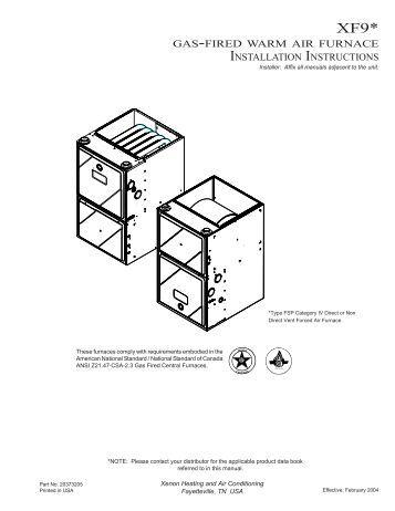 goodman 80 furnace installation manual