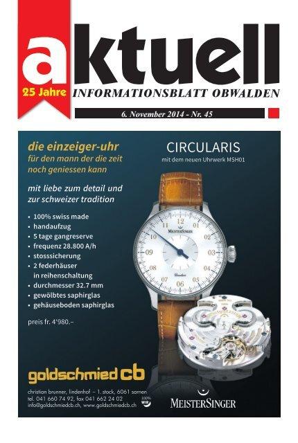Aktuell Obwalden 45-2014