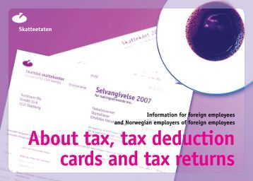 Information about tax deduction - Iaeste