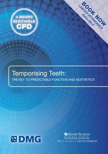 Temporising Teeth: - Henry Schein
