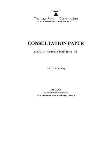 Law commission consultation paper