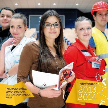 informator na rok akademicki 2013/2014 - Państwowa Wyższa ...