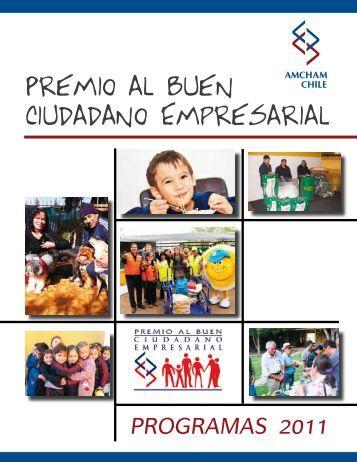 Premio al Buen Ciudadano Empresarial - Amcham Chile