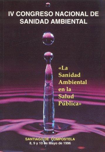 IV Congreso Nacional de Sanidad Ambiental - Sociedad Española ...