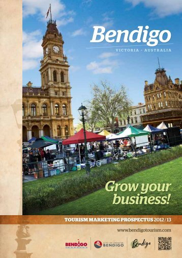 Grow your business! - Bendigo Tourism