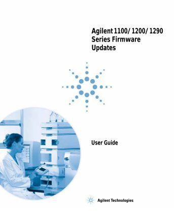 Firmware Update - Agilent Technologies
