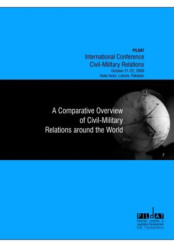 A Comparative Overview of CMR around the world - PILDAT