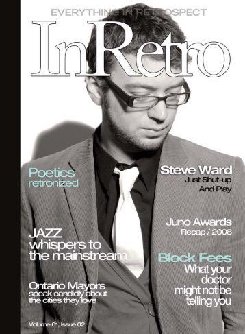 National Jazz Awards - InRetro Magazine + The InRetro Radio ...