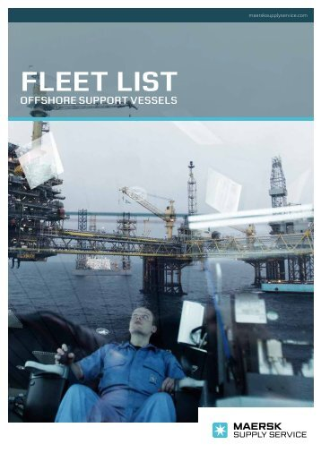 fleet list - Maersk Supply Service