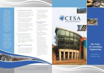 to download our brochure - Cesa