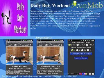 Daily Butt Workout - RunMob