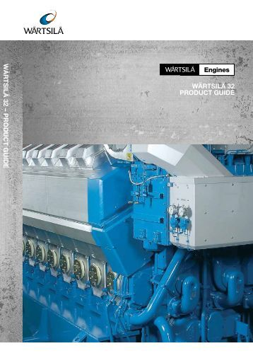 Wärtsilä 32 Product Guide