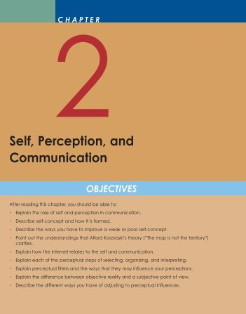 self perception communication essay Self-perception theory (spt) however, when the essay fell in the latitude of acceptance, the results favoured self-perception theory.
