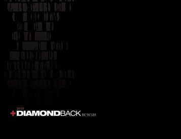 2010 Catalog PDF - Diamondback Bicycles