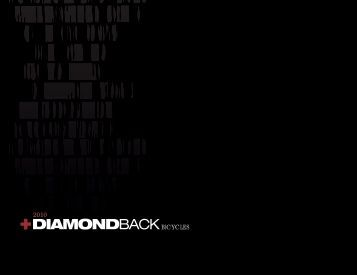 2010 Catalog PDF - Diamondback Bicycles