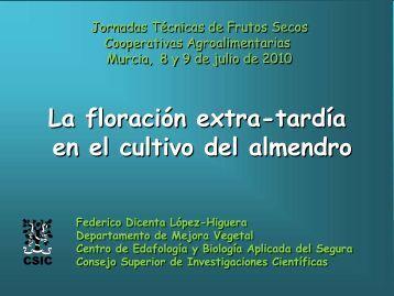 Programa de Mejora Genética del Almendro - Cooperativas Agro ...