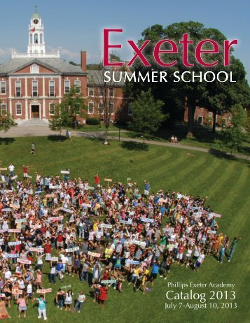 the exeter philips summer session Uc berkeley summer sessions 2018 the university of exeter is offering 8 exeter students an amazing opportunity to attend the uc berkeley summer sessions.