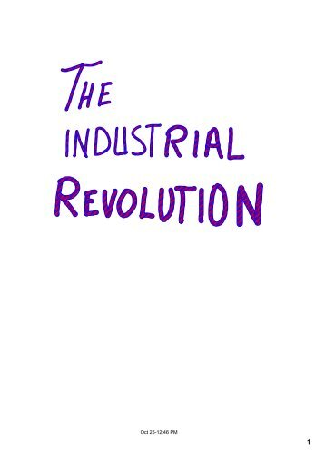 Industrial Revolution Causes.pdf - Cambridge College Secondary ...