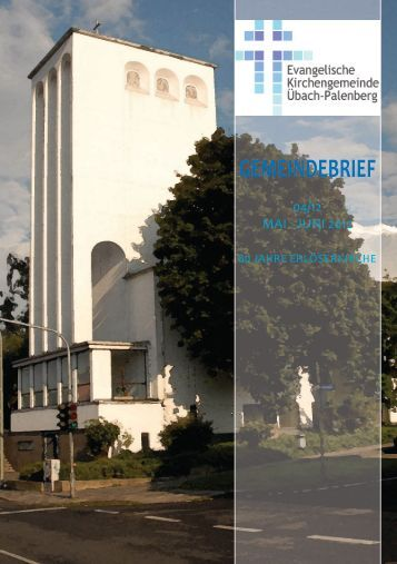 GEMEINDEBRIEF - Evangelisch in Übach-Palenberg