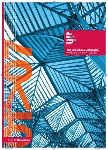 the latest trade catalogue - RIBA Bookshops