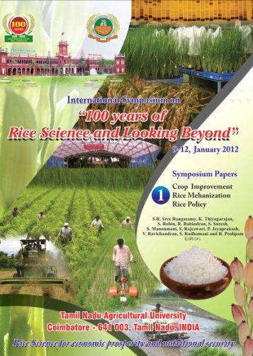 100 years of Rice Science and Looking Beyond