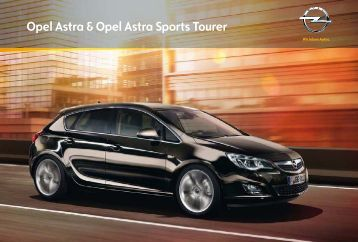 Opel Astra & Opel Astra Sports Tourer