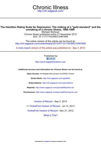 geriatric depression scale long form pdf