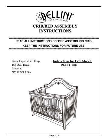 mamas and papas orchard cot bed instructions