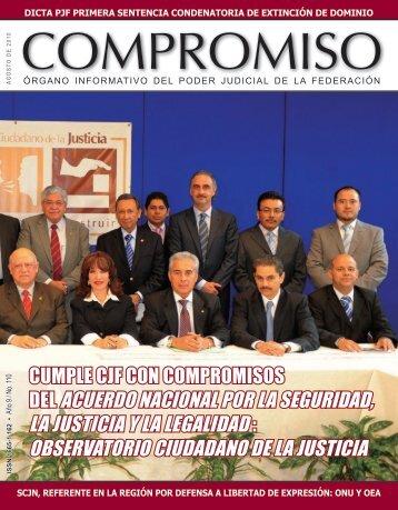 observatorio ciudadano de la justicia - Consejo de la Judicatura ...