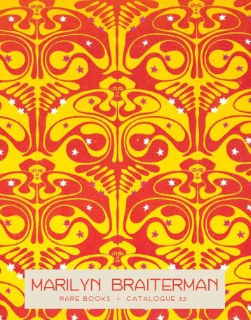Catalogue 32 - Marilyn Braiterman