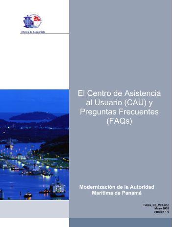 El Centro de Asistencia al Usuario (CAU) - Autoridad Marítima de ...