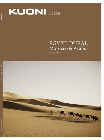 Egypt, Dubai, Morocco & Arabia 2013 - Travel Club Elite