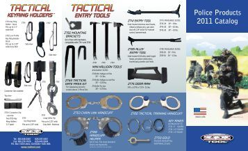 zak police product catalog