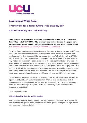 Liberating the NHS white paper