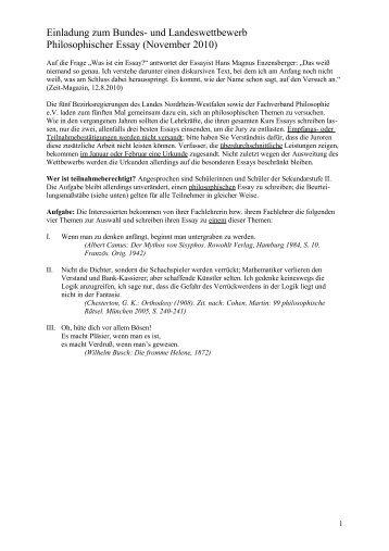 Hayek essay contest