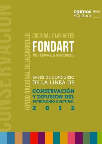 BASES DE CONCURSO PÙBLICO - Consejo de la Cultura y las Artes